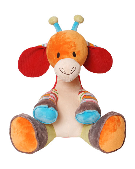 """Giro"" Giant Stuffed Giraffe"
