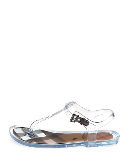 7212e8f2a79 Burberry Jelly Thong Sandals