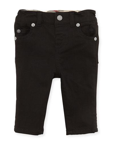 5-Pocket Jeans, Black, Girls' 3M-3Y