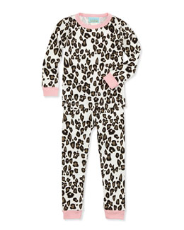 Wild Thing Snug Fit Pajama Set, 2T-8Y