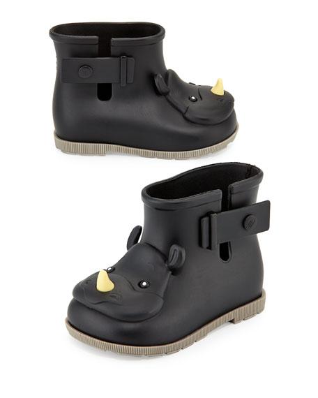 Sugar Rain Rhino Boots, Black, 5-10