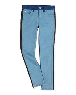 The Skinny Colorblock Girls' Jeans, 7-14