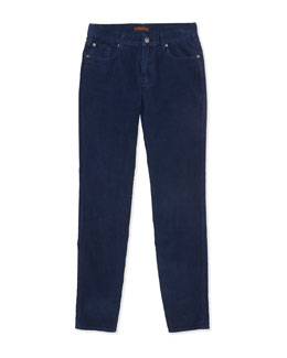 Standard Corduroy Jeans, Navy, Sizes 8-16