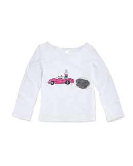 Milly Minis Long-Sleeve Graphic Tee, Girls' 2-7