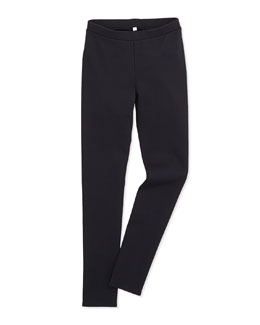 Scrunch Stretch Jersey Leggings, Girls' S-XL
