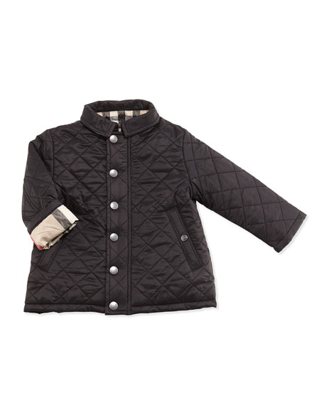 d4ed1c9d3356 Burberry Jerry Quilted Jacket w  Removable Hood
