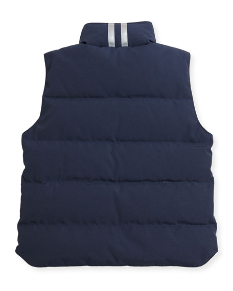 Youth Vanier Arctic-Tech Vest, Dark Blue, XS-XL