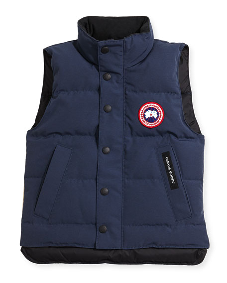 Canada Goose Youth Vanier Arctic-Tech Vest, Dark Blue,