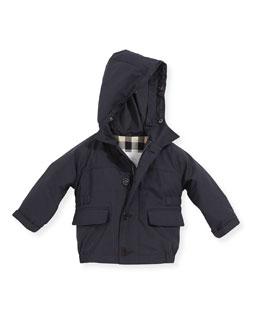 Parka with Removable Warmer Jacket, Dark Indigo