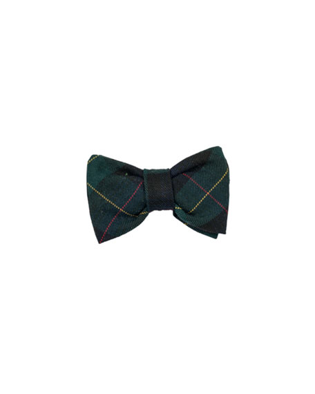 Photo-Op Plaid Bow Tie