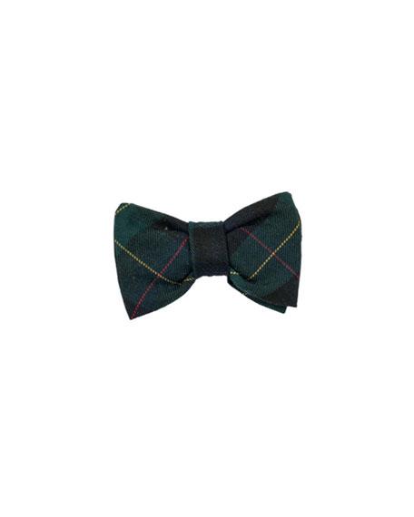 Photo-Op Plaid Bow Tie