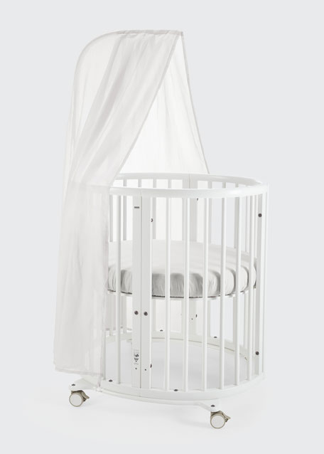 stokke canopy for stokke sleepi mini crib. Black Bedroom Furniture Sets. Home Design Ideas