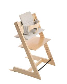 Cushion For Tripp Trapp Chair, Gray Loom