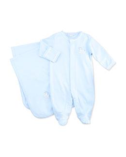 Baby Rockers Blanket, Blue