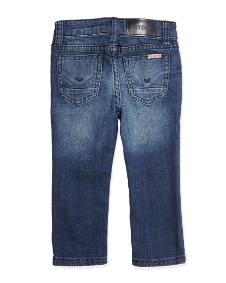 Parker Straight-Fit Blue Crush Jeans, 12-24 Months