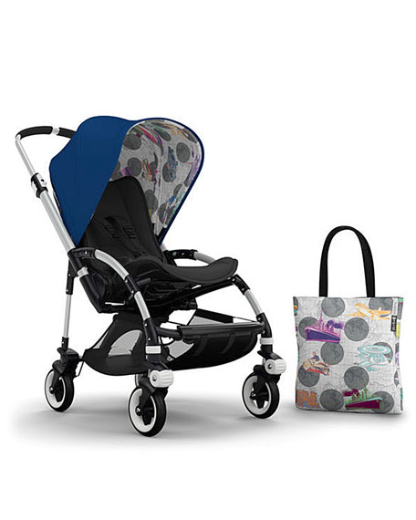 Bugaboo Andy Warhol Bee 3 Tailored Fabric Set,