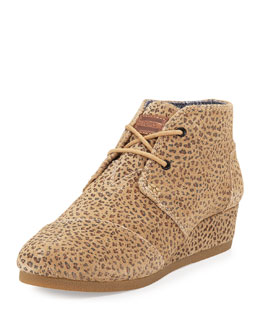 Suede Desert Boot, Cheetah, Youth