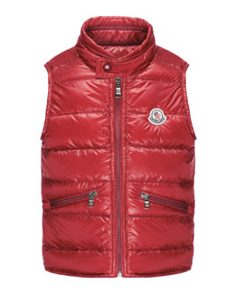 Gui Lightweight Puffer Vest, Sizes 4-6