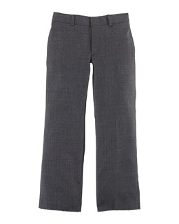 Woodsman Wool Twill Pants, Light Gray, Size 4-7