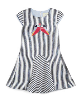 Designer Girls Clothing Size 7u002f8 Navy White Size