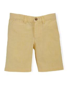 Preston Oxford Shorts, Yellow, Size 2-7