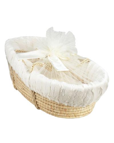 Moses Basket, Ivory