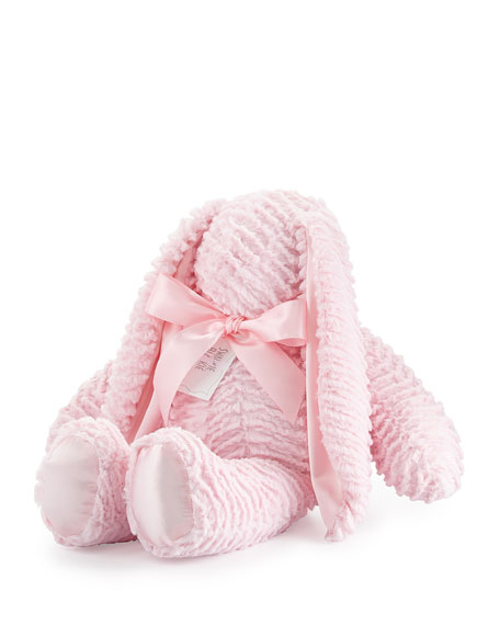 Ziggy Large Plush Bunny, Pink