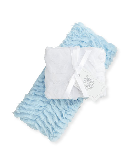 Ziggy Burp Cloth Set, Blue