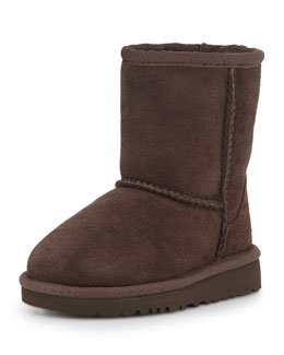 Kids' Classic Boot, Chocolate, 5Y-6Y