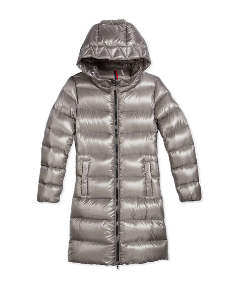 1abaed3c7 Suyen Hooded Down Coat Gray Size 8-14