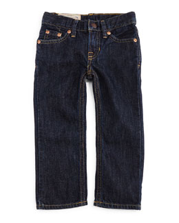 Slim-Fit Denim Jeans, Vestry Wash, Size 2-7