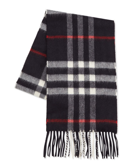 Cashmere Exploded Check Scarf