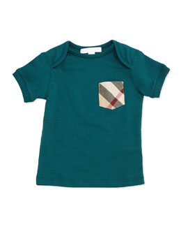 Callum Short-Sleeve Jersey Tee, Size 3M-3Y