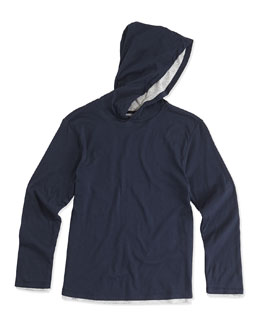 Double-Layer Hoodie, Coastal, Boys' 2-7