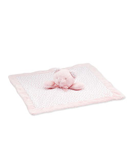 Teddy Bear Security Blanket, Pink