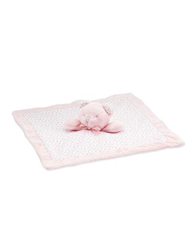 Teddy Bear Security Blanket, Pink