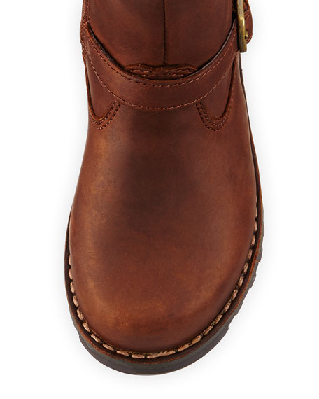 7b618d30376 Harwell Leather Buckle-Trim Boot Stout Youth