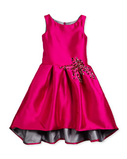 Girls Designer Clothing Size 7-14 Dress Pink Size