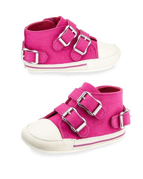 Mini Canvas High-Top Sneaker, Infant