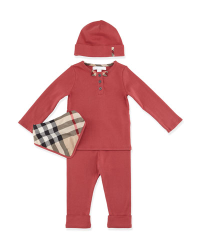 Pipa 4-Piece Cotton Gift Set, Size 3M-3Y