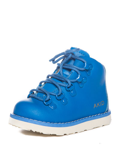 Jasper Leather Hiking Boot, Blue, Toddler/Youth