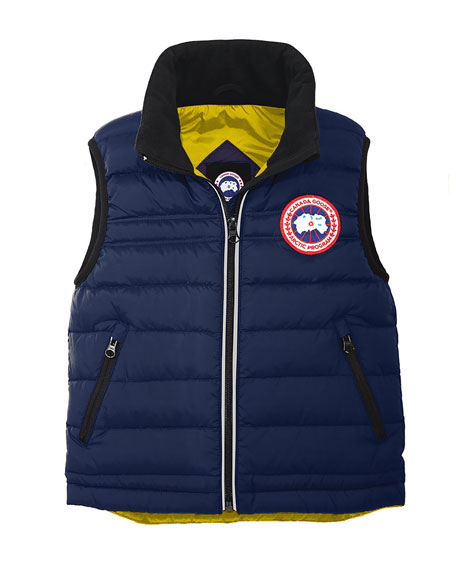 Canada Goose Bobcat Down Puffer Vest, Pacific Blue,