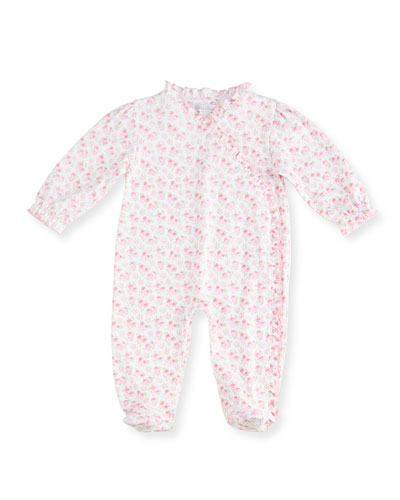 Pampered Poodles Pima Footie Pajamas, Pink, Size Newborn-9 Months