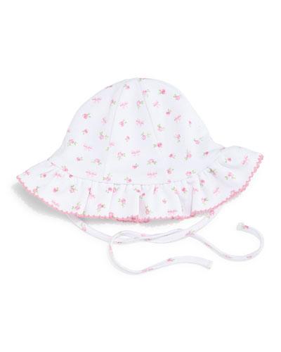 Rosy Pima Floppy Hat, Pink