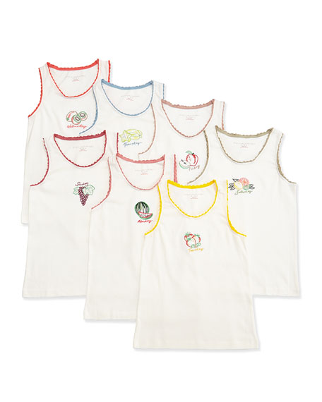 Stella McCartney Kids Clementina 7-Day Fruit Tank Set,