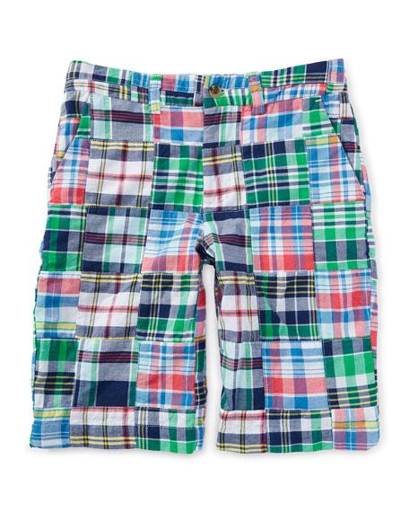 Ralph Lauren Cotton Patchwork Prospect Shorts,