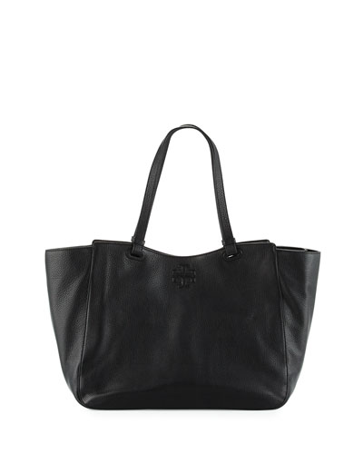 Thea Leather Tote Baby Bag