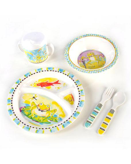 sc 1 st  Bergdorf Goodman & MacKenzie-Childs Boys\u0027 Frog Dinnerware Box Set