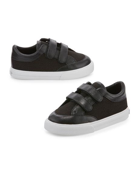Heacham Solid Canvas Sneaker, Black, Infant