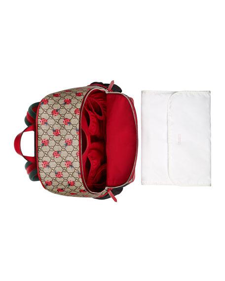 a482c37a4a9 Gucci Classic GG Supreme Ladybug Backpack Diaper Bag